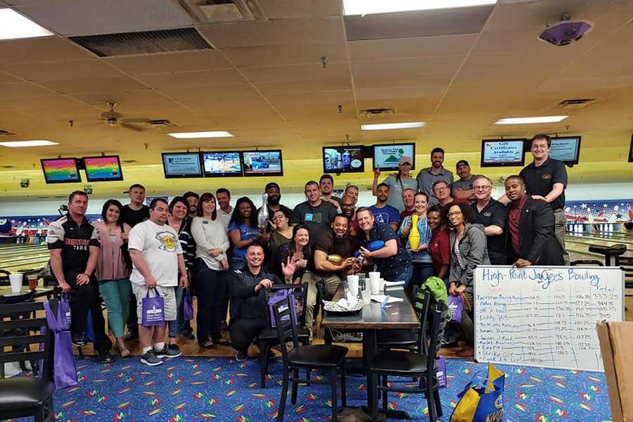 High Point Jaycees Bowling Tournament