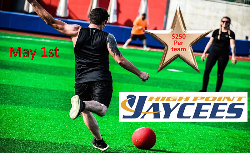High Point Jaycees Annual Kickball Tournament